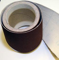 E-wt Abrasive Paper Rolls