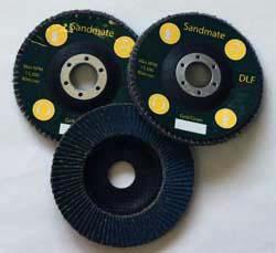 """4 1/2""""x 7/8"""" dia Premium Zirconium Flap discs Type 29"""