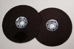 Quick change Ceramic fiberdiscs
