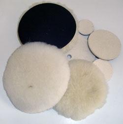 Genuine Polishing Sheep Skin on Hook/Loop