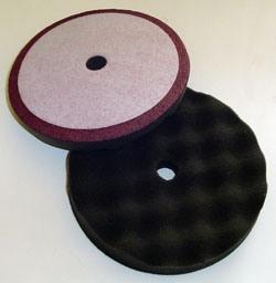 Premium Very Soft Waffle Foam Polishing Pads with Hook/Loop
