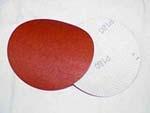"5"" Dia Velcro Paper discs Grit 60"